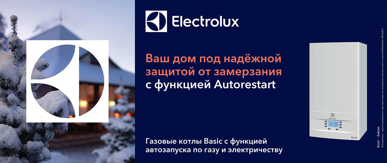 Газовый котлы Electrolux
