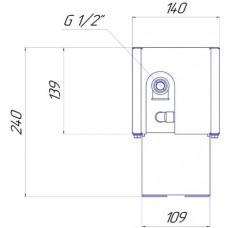 Напольный конвектор Новатерм НТ-Н-14/14/XXX (таблица цен внутри)