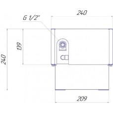 Напольный конвектор Новатерм НТ-Н-14/24/XXX (таблица цен внутри)