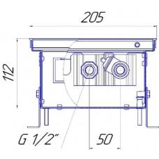 Внутрипольный конвектор Новатерм НТ-В-11/20/XXX (таблица цен внутри)