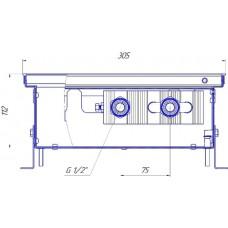 Внутрипольный конвектор Новатерм НТ-В-11/30/XXX (таблица цен внутри)