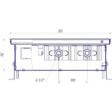 Внутрипольный конвектор Новатерм НТ-В-11/35/XXX (таблица цен внутри)