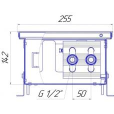 Внутрипольный конвектор Новатерм НТ-В-14/25/XXX (таблица цен внутри)