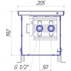 Внутрипольный конвектор Новатерм НТ-В-19/20/XXX (таблица цен внутри)