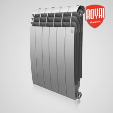 Биметаллический радиатор отопления Royal Thermo BiLiner 500 Silver Satin