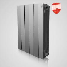 Биметаллический радиатор отопления Royal Thermo PianoForte 500 Silver Satin