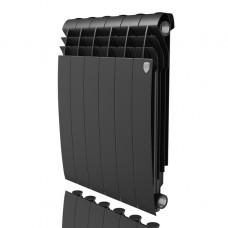 Алюминиевый радиатор отопления Royal Thermo Biliner Alum 500 Noir Sable