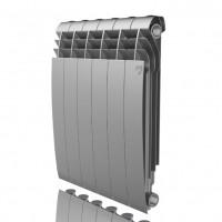 Алюминиевый радиатор отопления Royal Thermo Biliner Alum 500 Silver Satin