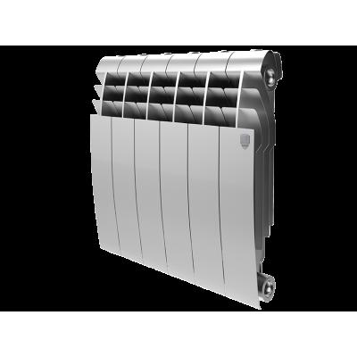 Биметаллический радиатор Royal Thermo BiLiner 350 Silver Satin (цена указано за 1 секцию)