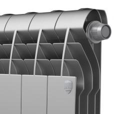 Биметаллический радиатор Royal Thermo Biliner 350 VD Silver Satin (4 секции)