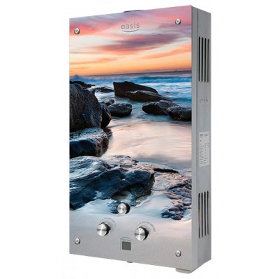 Oasis Glass 20 MG (панель море с камнями)